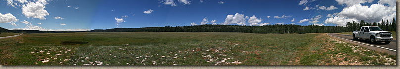 Pan Shot of th Kaibab Plateau