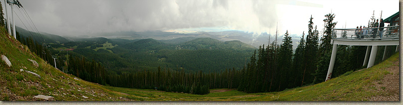 The White Mountains of Arizona in the Summer of 2006