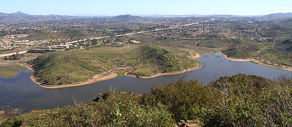 Lake Hodges - South